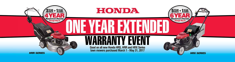 Honda Extended Warranty